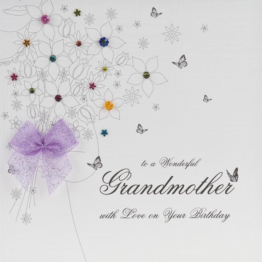Grandmother Handmade Birthday Card BB9