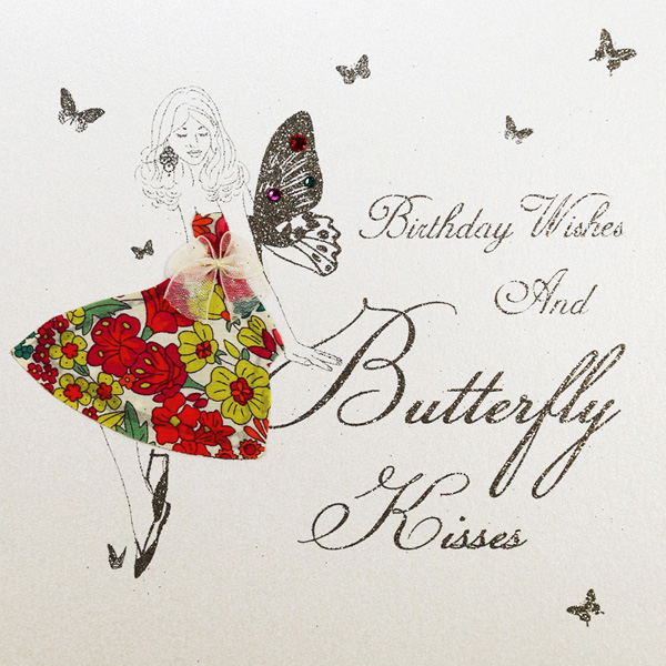 Birthday Wishes & Butterfly Kisses