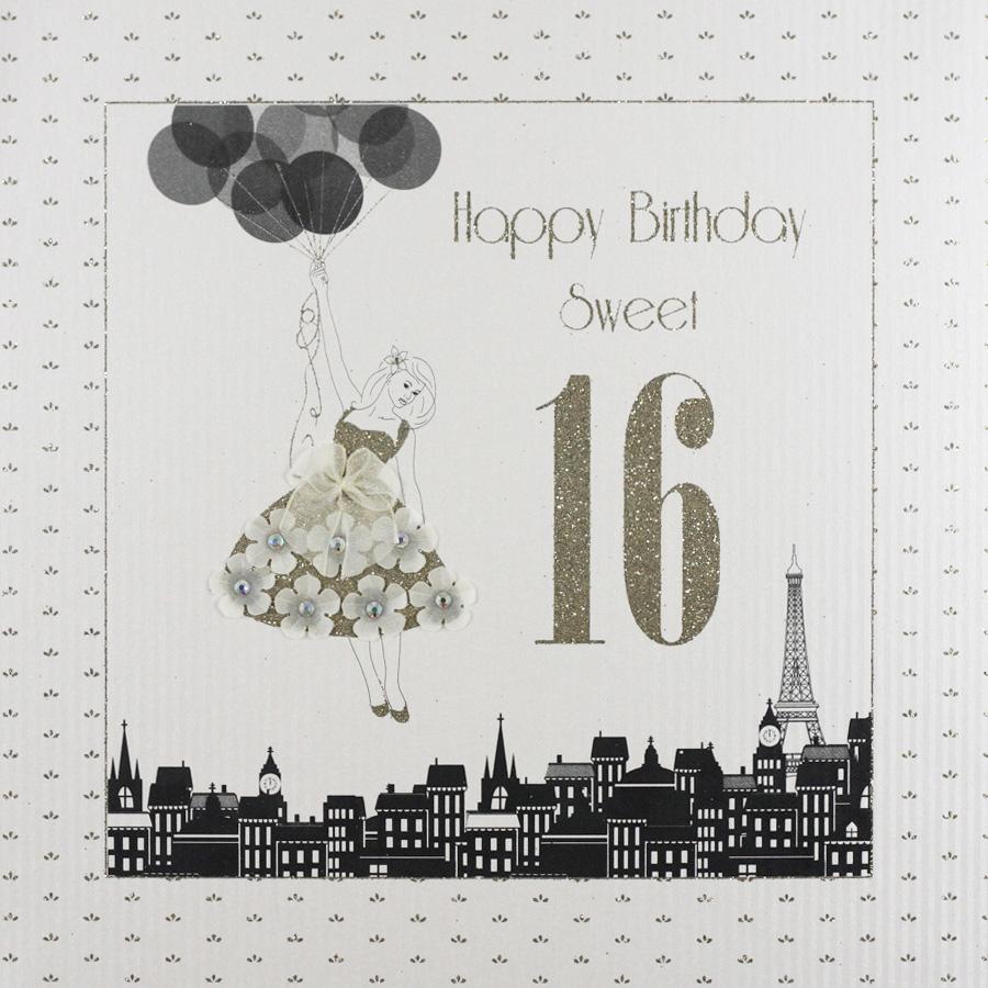 16 Large Handmade Birthday Card GA49