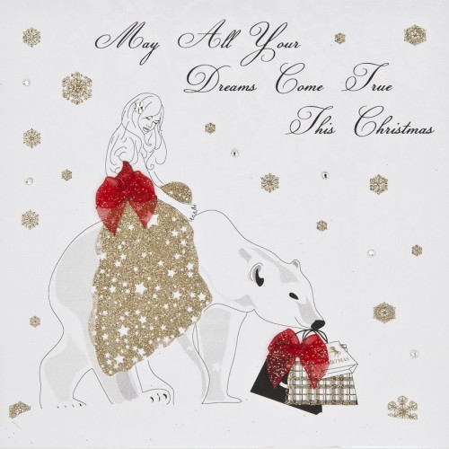Female Christmas Cards