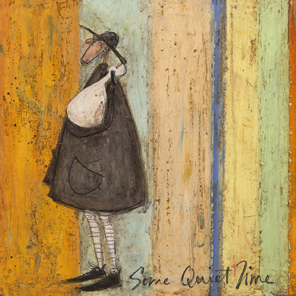 Some quiet time sam toft open greeting card st1637 tilt art some quiet time sam toft open greeting card st1637 m4hsunfo