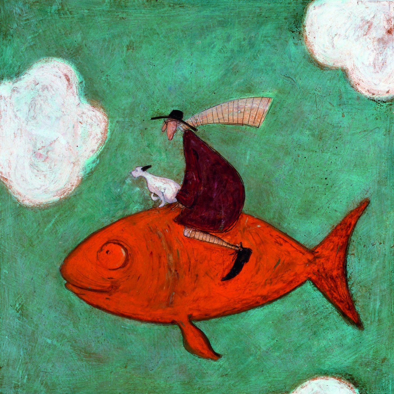Its a lo o ong way down sam toft open greeting card st312 its a lo o ong way down sam toft open greeting card m4hsunfo