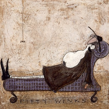 Fifty winks sam toft open greeting card st981 tilt art fifty winks sam toft open greeting card st981 m4hsunfo