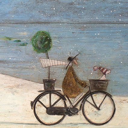 The hat thief sam toft open christmas card xst1074 tilt art the hat thief sam toft open christmas card xst1074 m4hsunfo