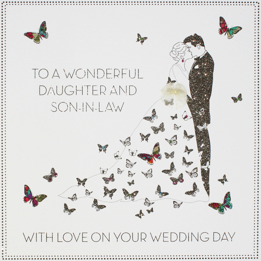 To A Wonderful Daughter Son In Law