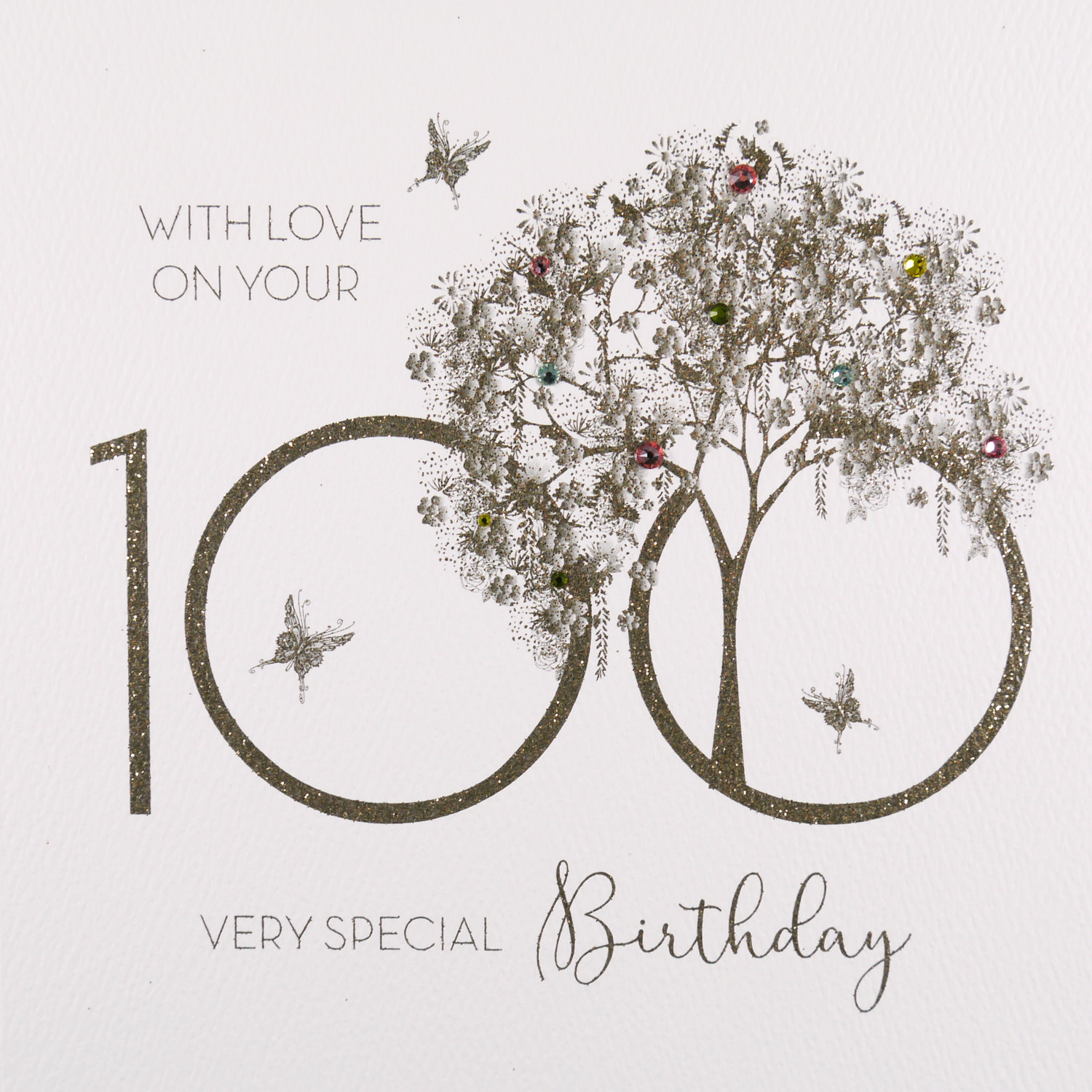 100th Birthday Card GS28 Sale