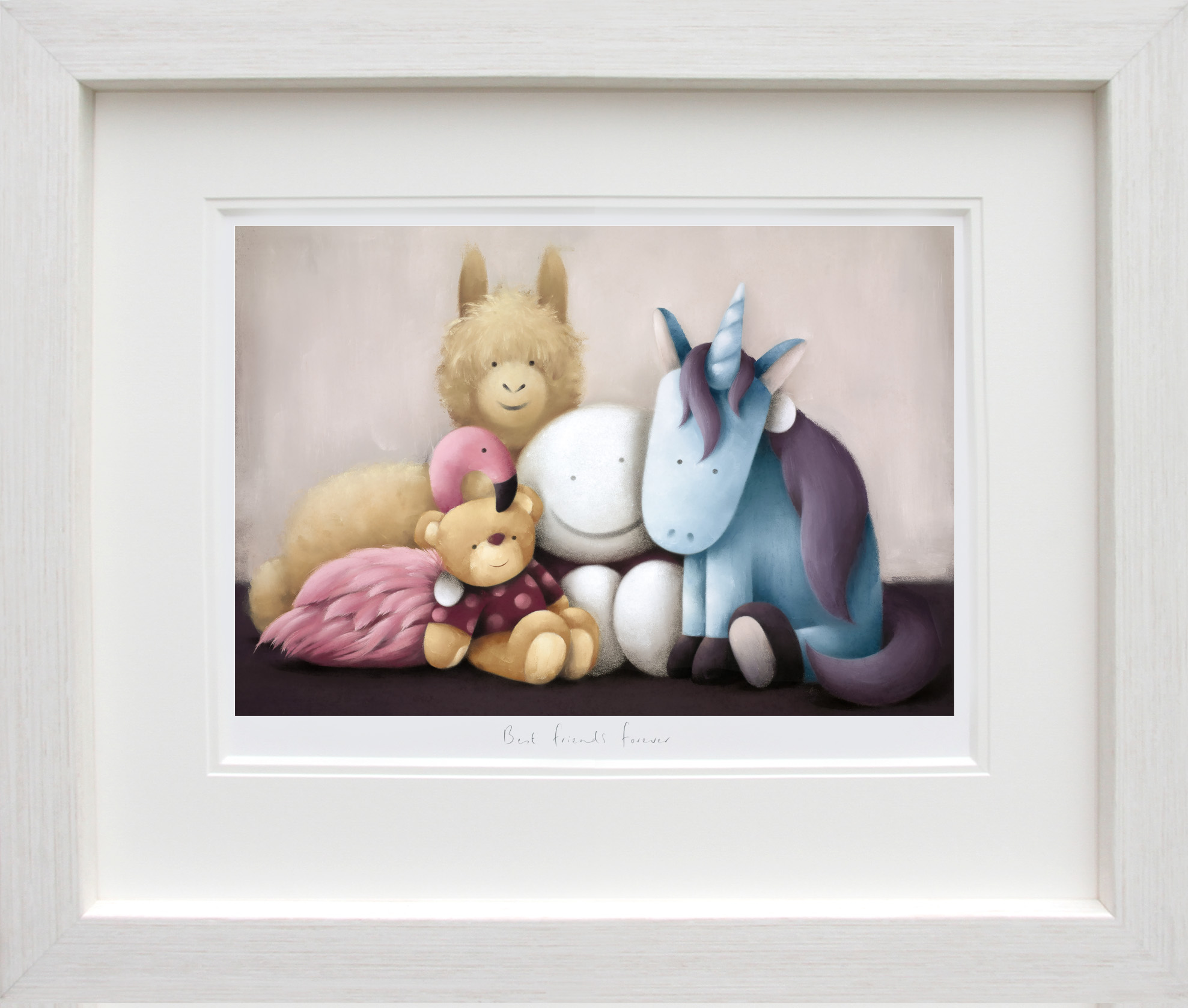 Best Friends Forever - Limited Edition Print By Doug Hyde