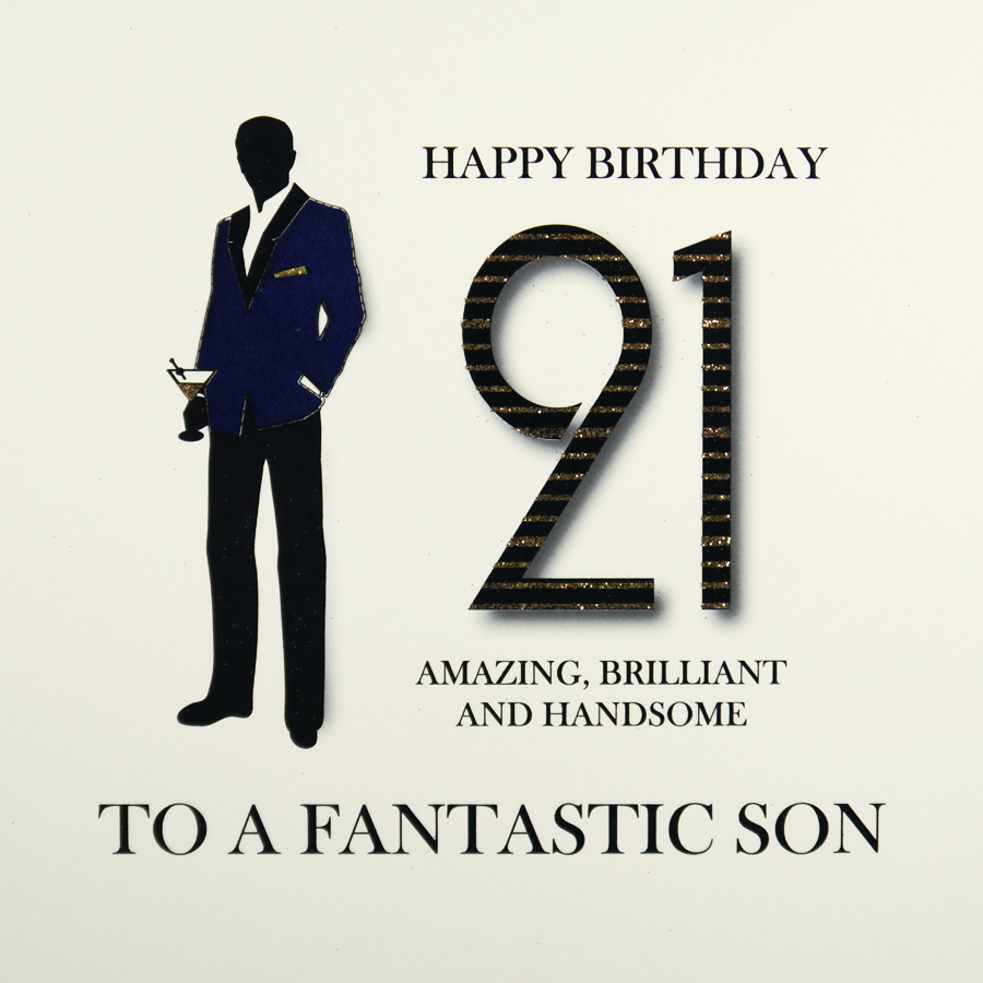 21st Birthday Card MRM4