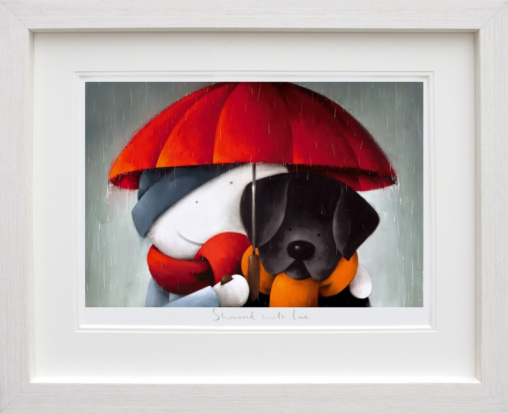 showered with love  limited edition printdoug hyde